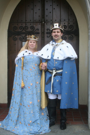 King Griffith and Queen Aikaterine